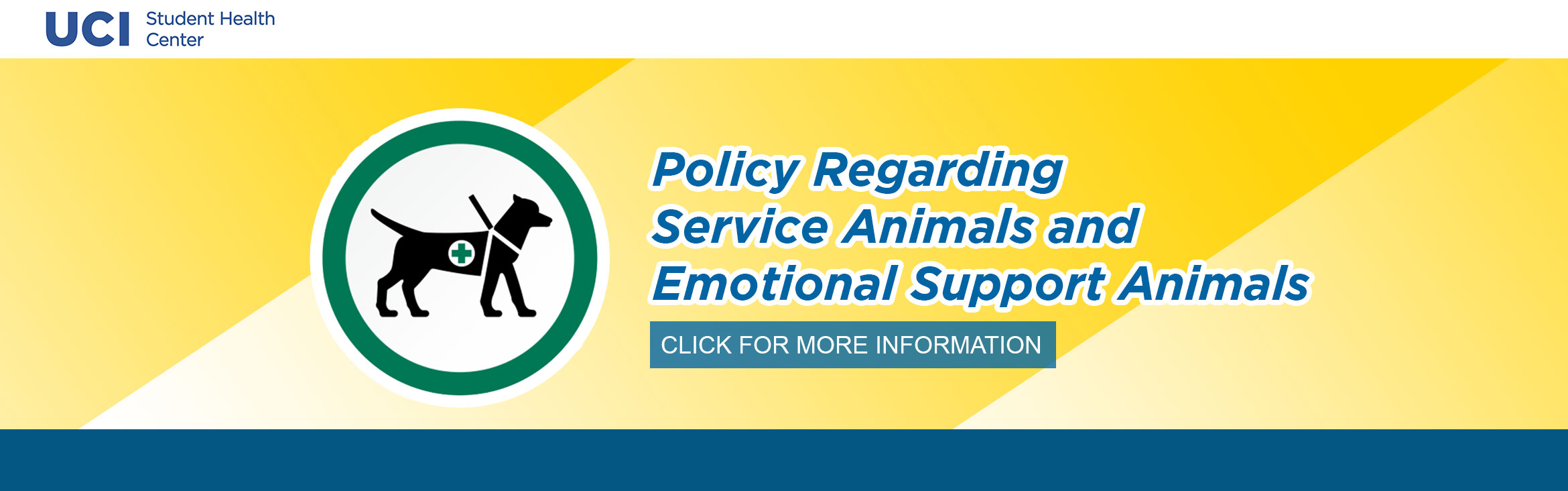 Policy Regarding Service Animals and Emotional Support Animals