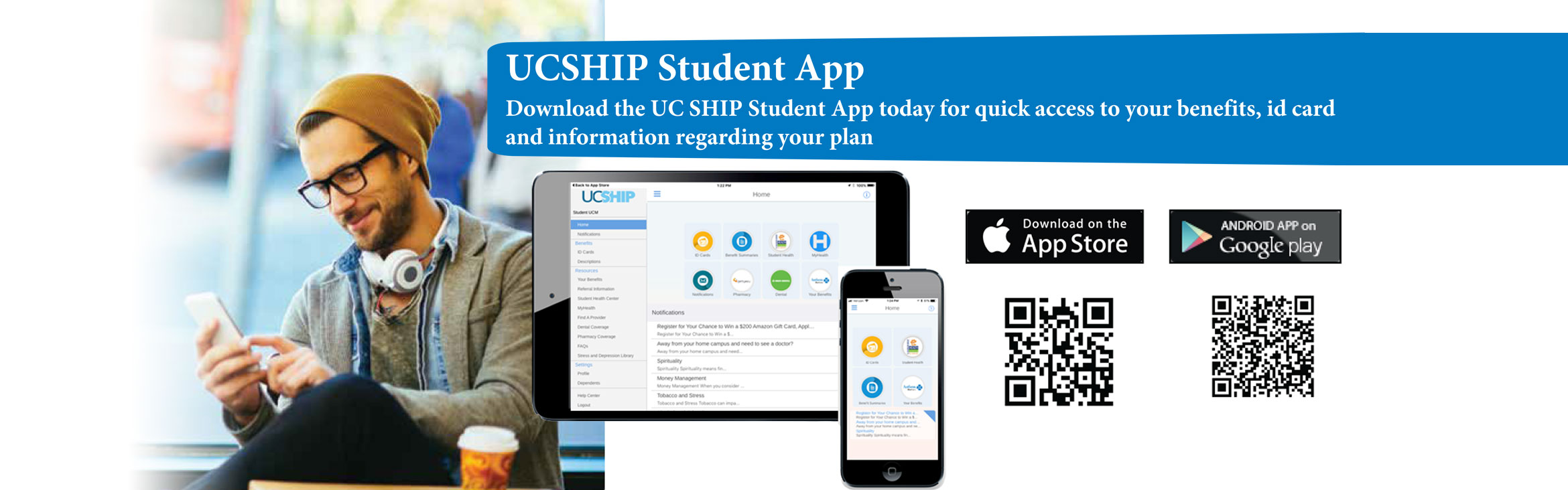 UCSHIP Student App, Download the UC SHIP Student App today for quick access to your benefits, id card and information regarding your plan