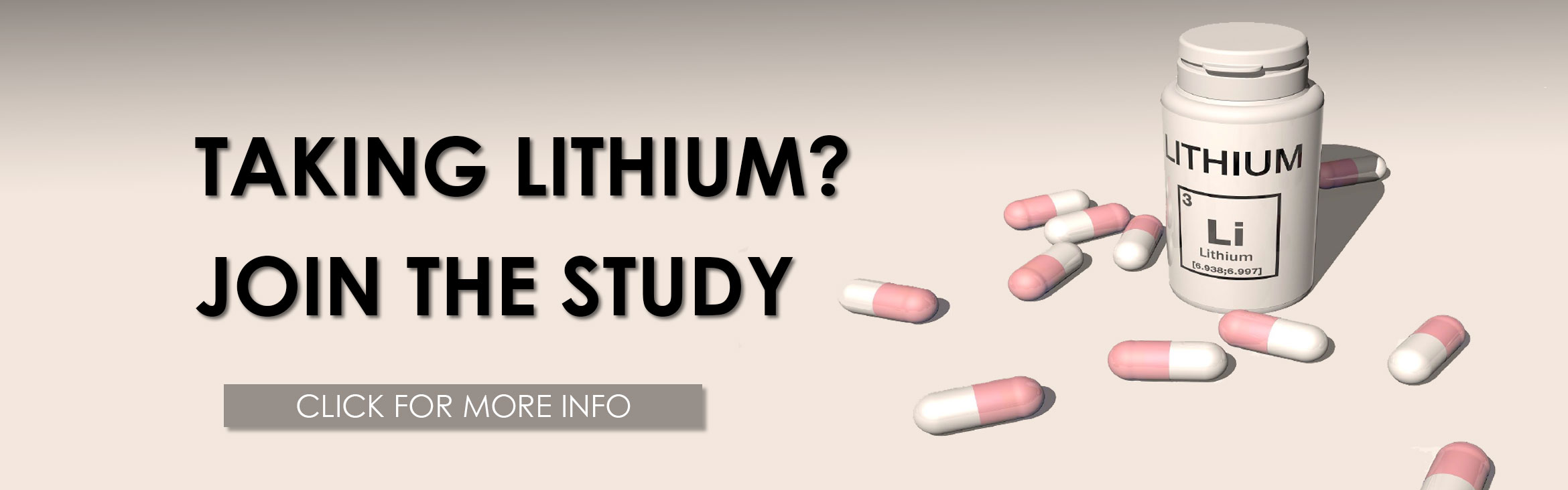 Taking Lithium? Join the study, Click for more info